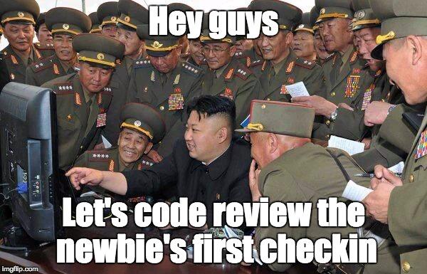 Newbie code review